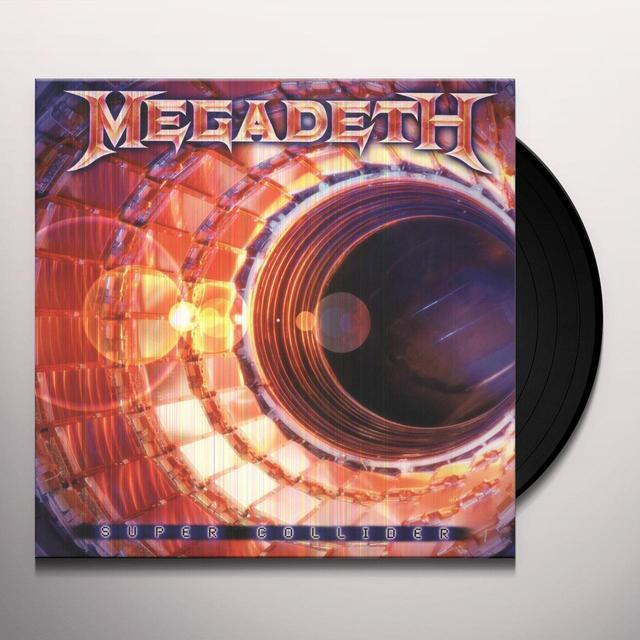 Megadeth SUPER COLLIDER Vinyl Record