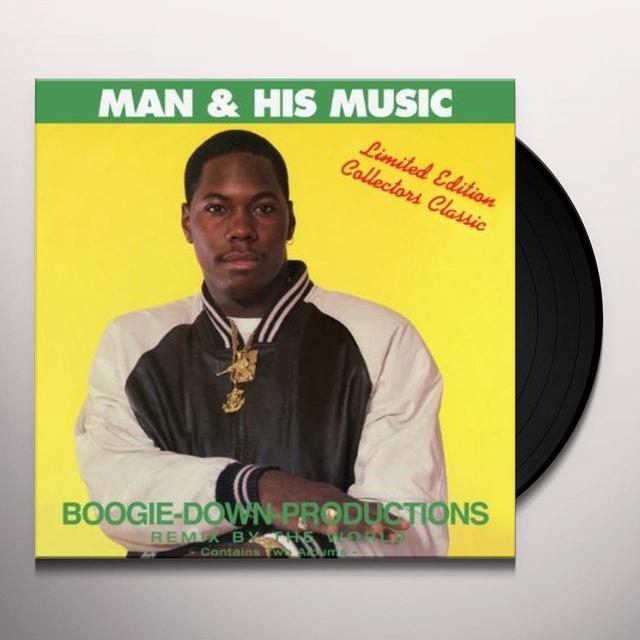 Boogie Down Productions MAN & HIS MUSIC Vinyl Record
