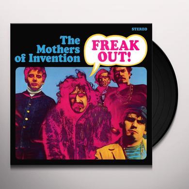 Frank Zappa FREAK OUT Vinyl Record