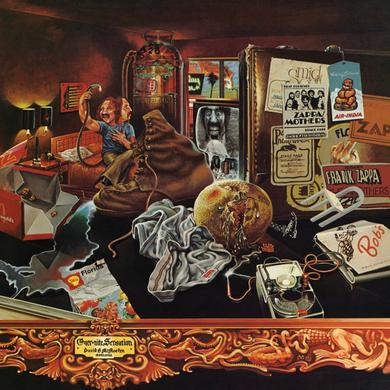 Frank Zappa OVER-NITE SENSATION Vinyl Record