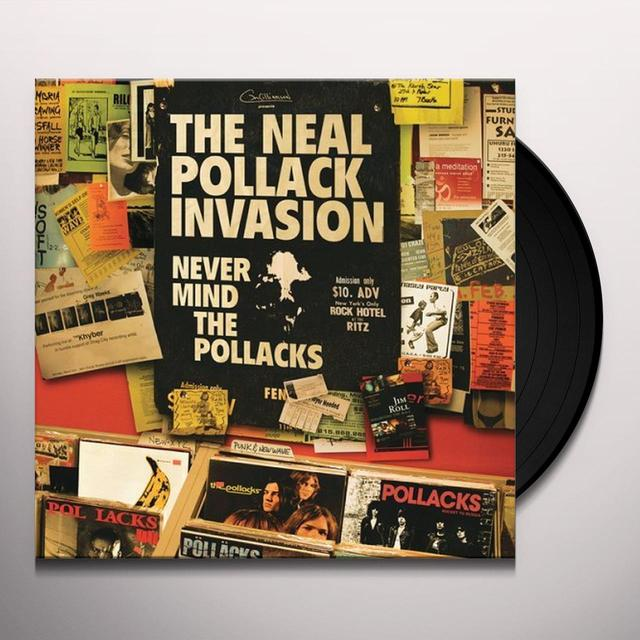 Neal Invasion Pollack NEVER MIND THE POLLACKS Vinyl Record