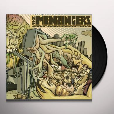 The Menzingers LESSON IN THE ABUSE OF INFORMATION TECHNOLOGY Vinyl Record