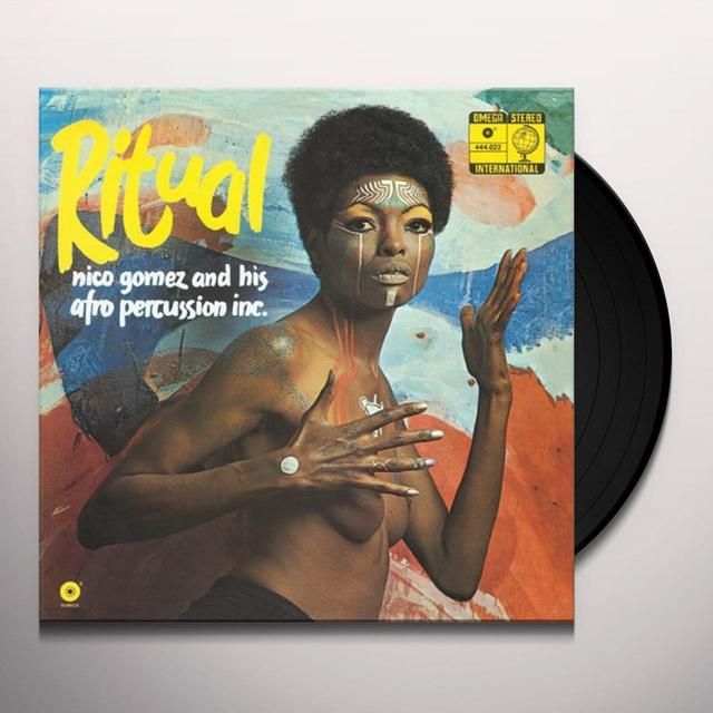 Nico Gomez RITUAL Vinyl Record