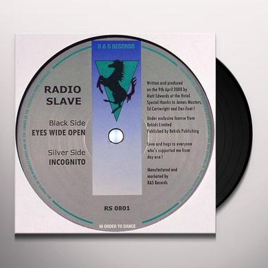 Radio Slave EYES WIDE OPEN / INCOGNITO Vinyl Record