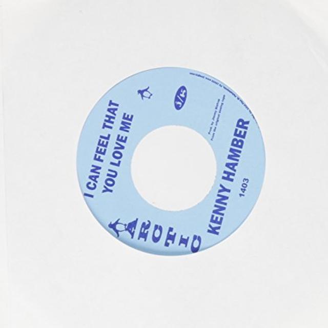 Kenny Hambler CAN FEEL THAT YOU LOVE ME / HEY GIRL Vinyl Record