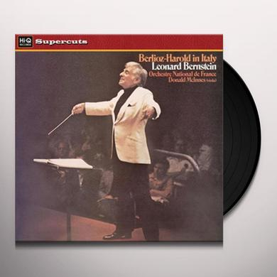 Leonard / Orch Mational De France Bernstein BERLIOZ-HAROLD IN ITALY Vinyl Record - 180 Gram Pressing