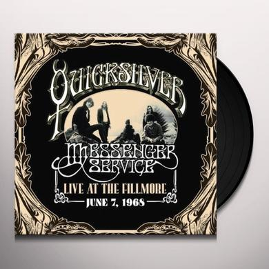 Quicksilver Messenger Service LIVE AT THE FILLMORE - JUNE 7, 1968 Vinyl Record