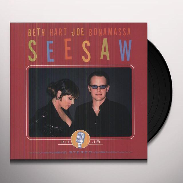 Beth Hart / Joe Bonamassa SEESAW Vinyl Record