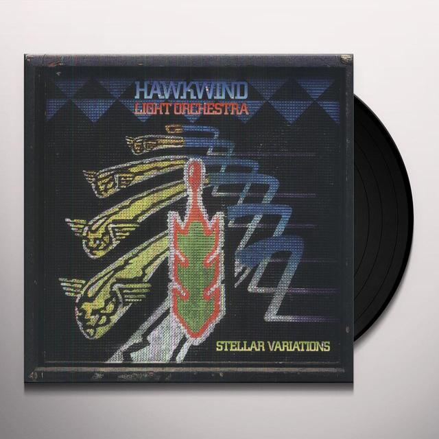 Hawkwind Light Orchestra STELLAR VARIATIONS Vinyl Record - UK Release