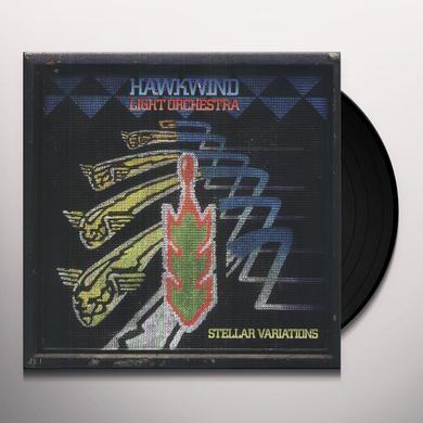 Hawkwind Light Orchestra STELLAR VARIATIONS Vinyl Record - UK Release