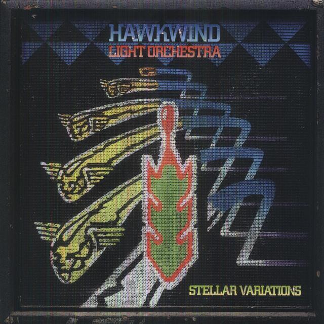 Hawkwind Light Orchestra STELLAR VARIATIONS Vinyl Record - UK Import