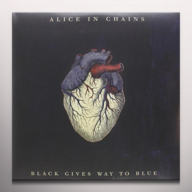 Alice In Chains BLACK GIVES WAY TO BLUE Vinyl Record - Colored Vinyl, Limited Edition, 180 Gram Pressing