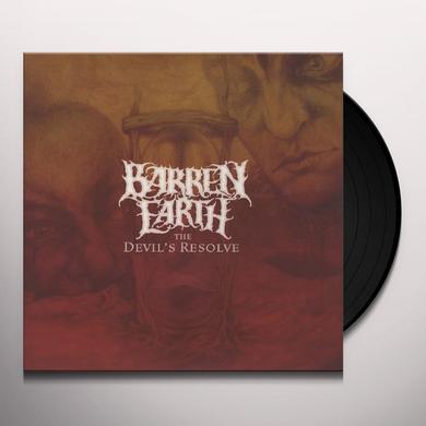 Barren Earth DEVIL'S RESOLVE Vinyl Record - 180 Gram Pressing