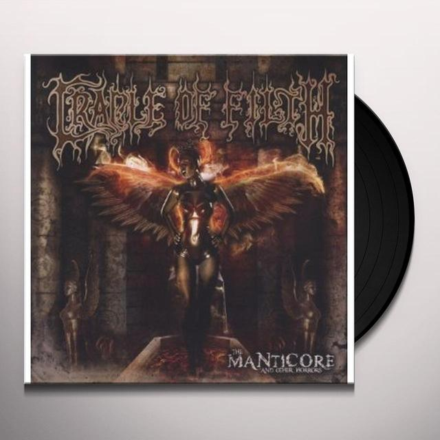 Cradle Of Filth MANTICORE & OTHER HORRORS Vinyl Record - Holland Import