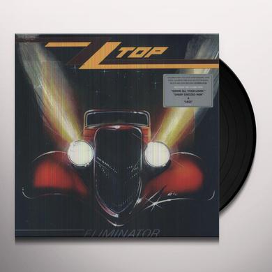 ZZ Top ELIMINATOR Vinyl Record - UK Import