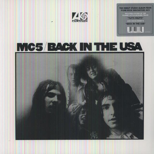 MC5 BACK IN THE USA Vinyl Record - 180 Gram Pressing