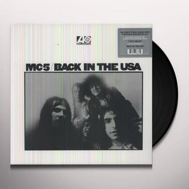 MC5 BACK IN THE USA Vinyl Record - 180 Gram Pressing
