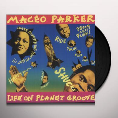 Maceo Parker LIFE ON PLANET GROOVE Vinyl Record