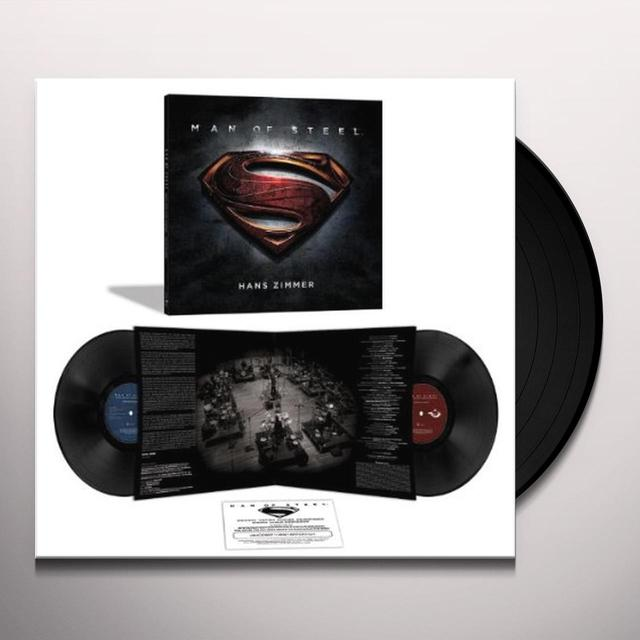 Hans (Ltd) (Ogv) Zimmer MAN OF STEEL (SCORE) / O.S.T. Vinyl Record - Limited Edition, 180 Gram Pressing