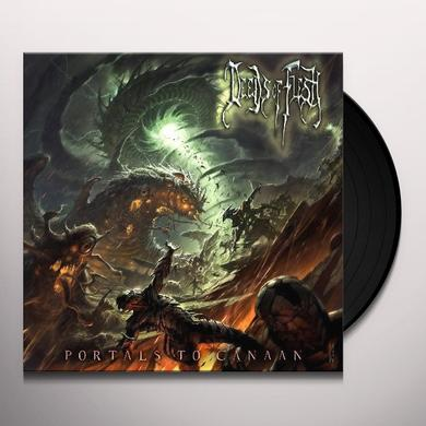 Deeds Of Flesh PORTALS OF CANAAN Vinyl Record