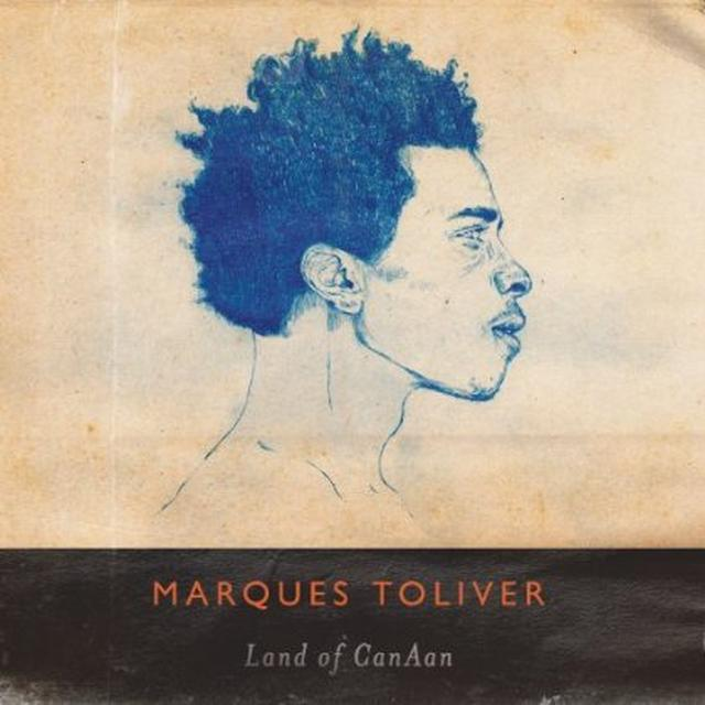 Marques Toliver LAND OF CANAAN Vinyl Record - w/CD, 180 Gram Pressing