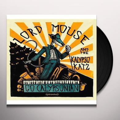 Lord Mouse & The Kalypso Katz GO CALYPSONIAN Vinyl Record