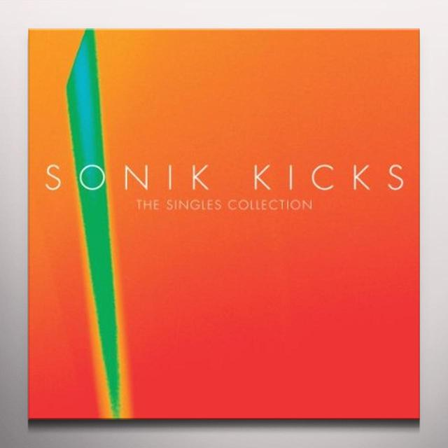 Paul Weller SONIK KICKS: THE SINGLES COLLECTION Vinyl Record - Colored Vinyl, Deluxe Edition