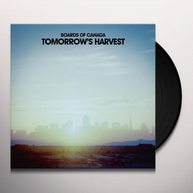 Boards Of Canada TOMORROW'S HARVEST Vinyl Record -