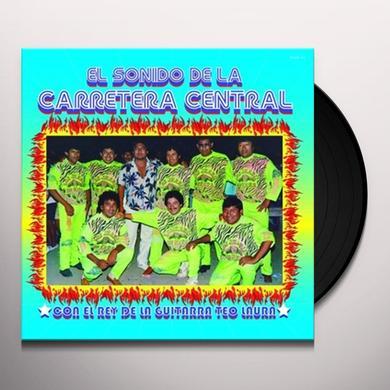Teo Laura Amao SONIDO DE LA CARRETERA CENTRAL Vinyl Record