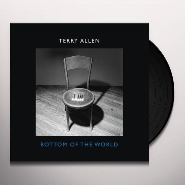 Terry Allen BOTTOM OF THE WORLD Vinyl Record