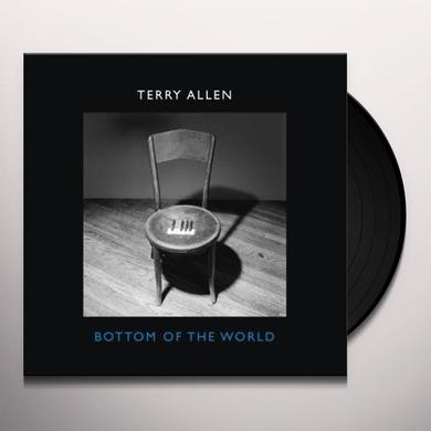 Terry Allen BOTTOM OF THE WORLD Vinyl Record