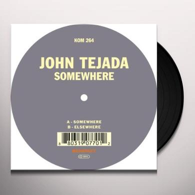 John Tejada SOMEWHERE Vinyl Record