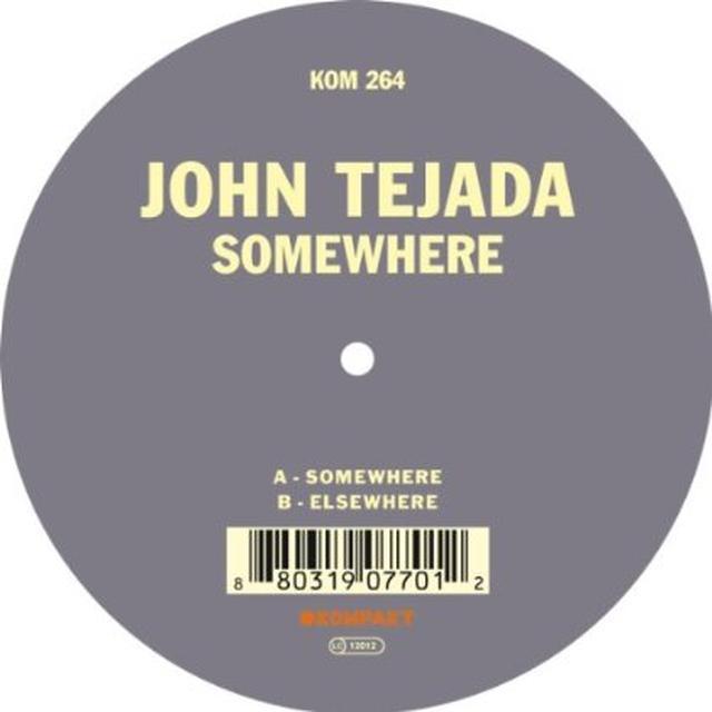 John Tejada SOMEWHERE Vinyl Record