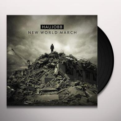 Haujobb NEW WORLD MARCH Vinyl Record