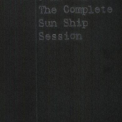 John Coltrane COMPLETE SUN SHIP SESSION Vinyl Record