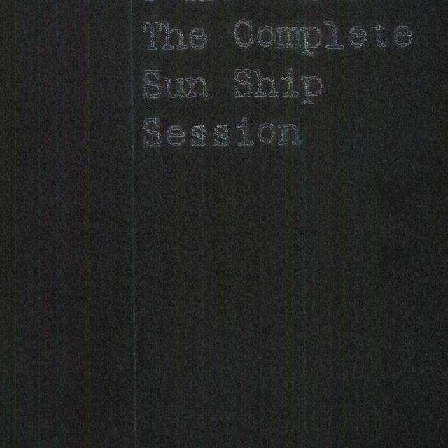 John Coltrane COMPLETE SUN SHIP SESSION Vinyl Record