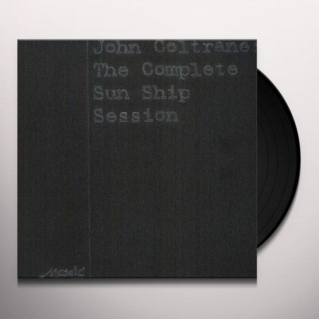 John Coltrane COMPLETE SUN SHIP SESSION  (BOX) Vinyl Record - 180 Gram Pressing