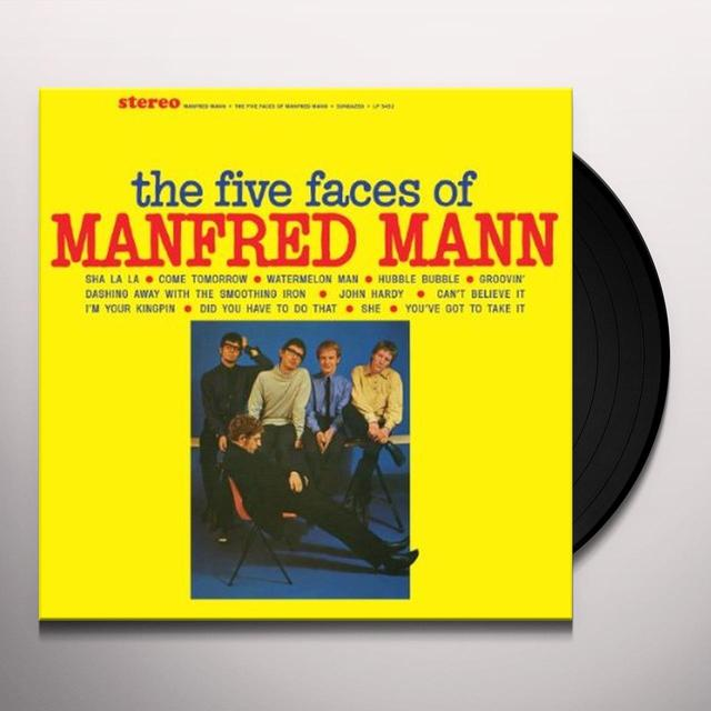 FIVE FACES OF MANFRED MANN Vinyl Record