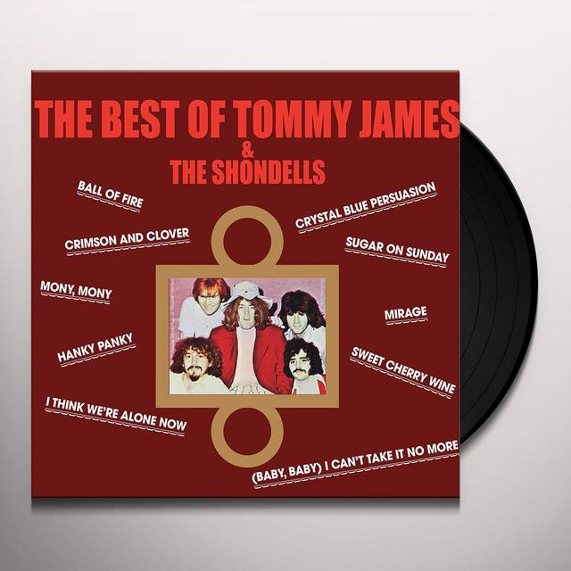 BEST OF TOMMY JAMES & THE SHONDELLS Vinyl Record