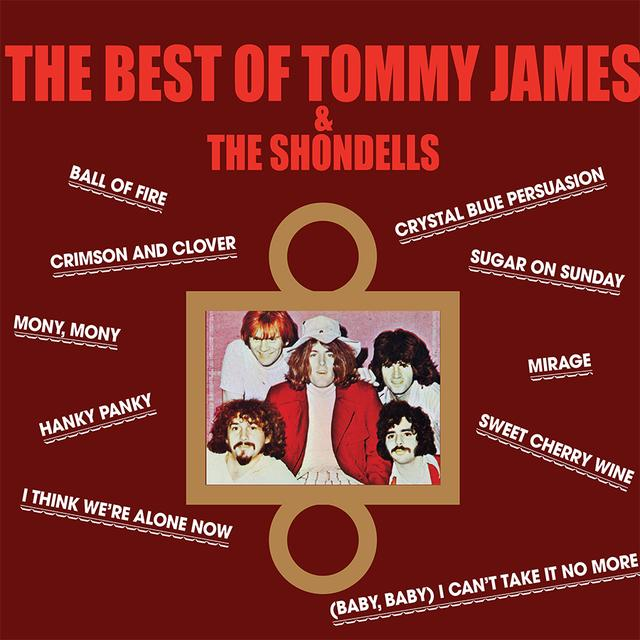 BEST OF TOMMY JAMES & THE SHONDELLS Vinyl Record - Limited Edition, 180 Gram Pressing