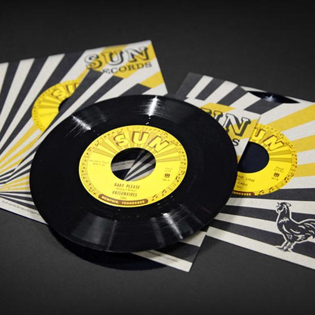 Johnny Cash GET RHYTHM / I WALK THE LINE Vinyl Record
