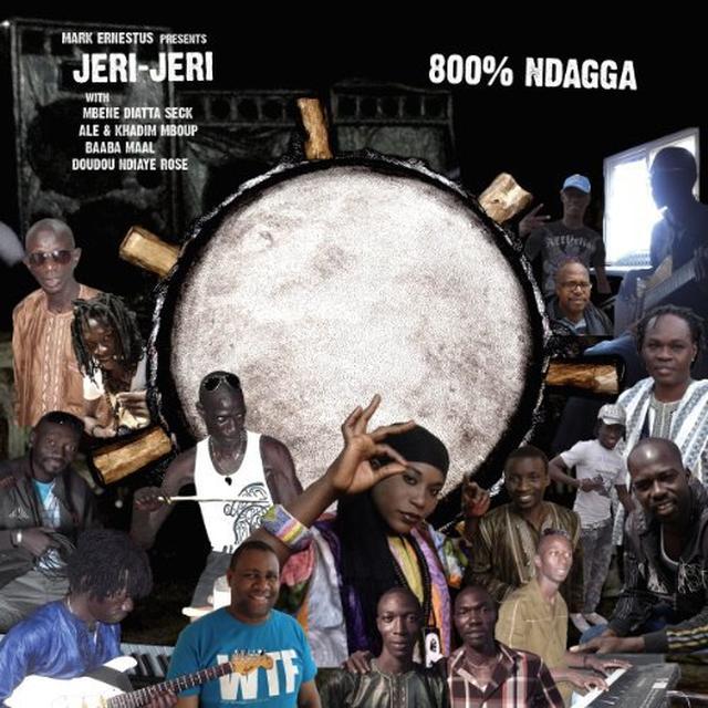 Mark Presents Jeri-Jeri Ernestus 800 NDAGGA Vinyl Record