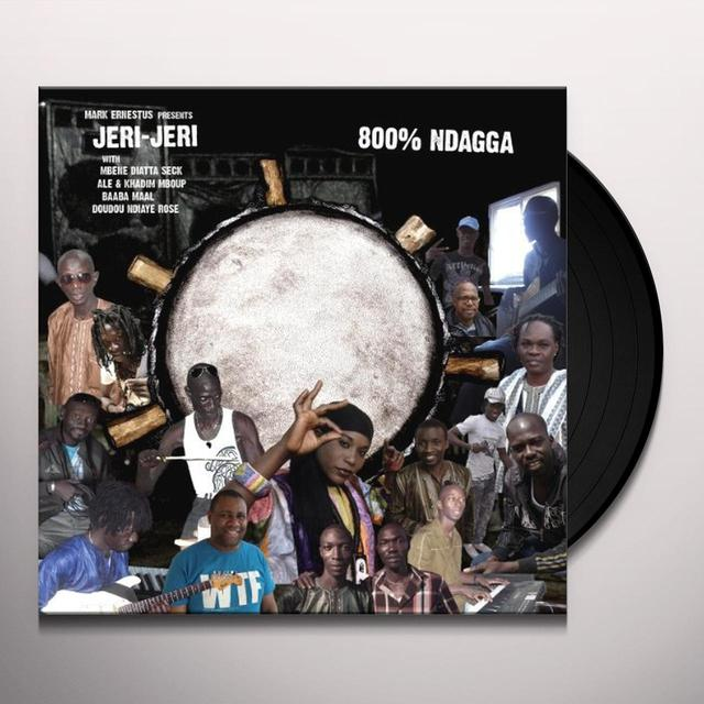 Mark Presents Jeri-Jeri Ernestus 800 NDAGGA Vinyl Record