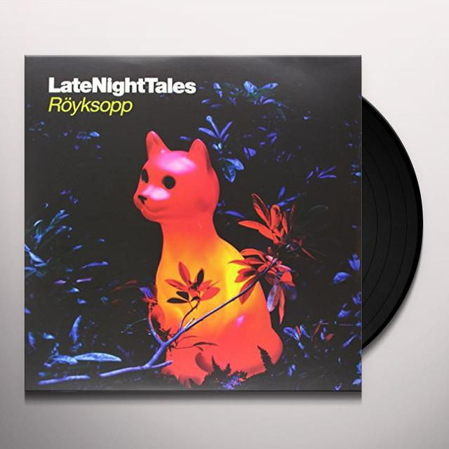 Royksopp LATE NIGHT TALES Vinyl Record - Black Vinyl, Gatefold Sleeve, 180 Gram Pressing, Digital Download Included