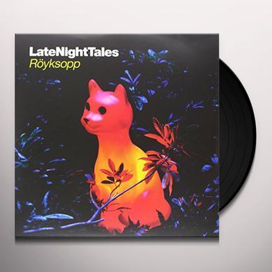 Royksopp LATE NIGHT TALES Vinyl Record - Black Vinyl, Gatefold Sleeve, 180 Gram Pressing, Digital Download Included