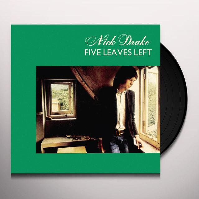 Nick Drake FIVE LEAVES LEFT Vinyl Record - Deluxe Edition
