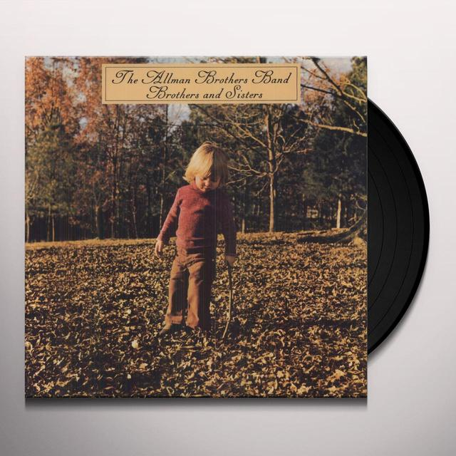 The Allman Brothers Band  BROTHERS & SISTERS Vinyl Record