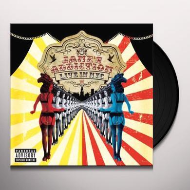 Jane's Addiction LIVE IN NYC Vinyl Record