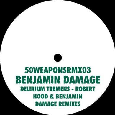 Benjamin Damage DELIRIUM TREMENS Vinyl Record