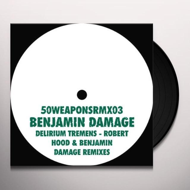 Benjamin Damage DELIRIUM TREMENS (EP) Vinyl Record